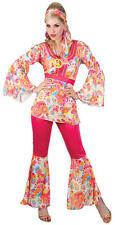 Hippie Honey XL UK 22-24 Plus Size Fancy Dress 60s Hippy Ladies 1960s Costume