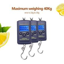 Digital Luggage Scale Fishing Weight Electronic Pocket Hanging Hook 40kg/10g ZH