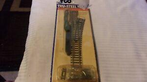 HO Scale Tyco Tru-Steel Right Hand Remote Switch #411 BNOS