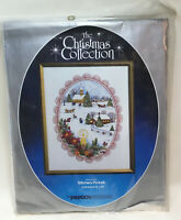 "Vintage PARAGON Needlecraft Christmas Collection ""Peace on Earth""  Sealed  #6181"