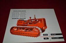 Allis Chalmers HD-11E Crawler Tractor  Dealer Brochure YABE11 Ver43