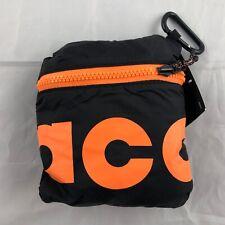 Nike ACG Packable Duffle Bag Black Orange Purple BA5840-537