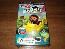 SET EYEPET ADVENTURE  & CAMERA PSP (new sealed  english game PSP & camera)