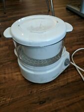 BLACK & DECKER Flavor Scenter Handy Rice & Vegetable Steamer -HS800- White