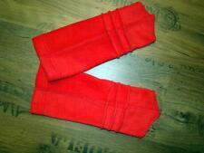 Lagenlook Design Dolce Biesen Scaldamuscoli pile rosso-fuoco Taglia unica