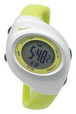 New Nike Kids Triax Junior WR0017 Vivid Green Silver Digital Sports 38mm Watch