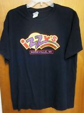IZZY'S Live Music & Dancing lrg T shirt Roseville tee Michigan bar Cheese Steak