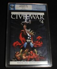 Civil War #4 Thor variant 9.8 Pgx Nm/Mint
