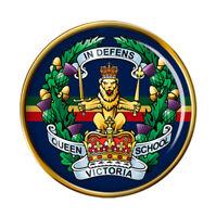Reine Victoria École, Armée Britannique Broche Badge