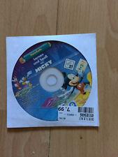 Disney PC Spiel Lernen und Spaß mit Micky Maus Vorschule Donald Duck Daisy