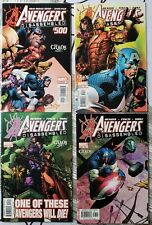 AVENGERS #500, 501, 502, 503 - Disassembled - Death of Hawkeye -  Bendis, Finch