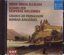 BIBER - MISSA ALLELUJA| GRADUS AD PARNASSUM KONRAD JUNGHÄNEL | CD-Album