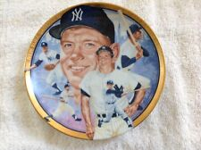 Mickey Mantle The Hamilton Collection - Collector Plate 1992