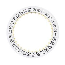 WHITE DATE DISC FOR MOVEMENT ETA 2836-2 CALENDAR MENS TUDOR WATCH