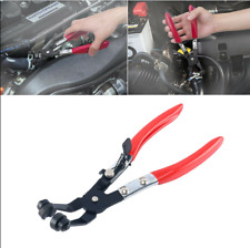 "45""ï Angled Swivel Jaw Locking Hose Clamp Pliers Fuel Coolant Pipe Clip Hand Tool"