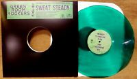 ROCKSTEADY REGGAE COLORED LP: GREEN ROOM ROCKERS SWEAT STEADY 2017