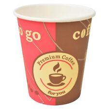 Vidaxl 1000x Bicchieri da Caffè Monouso in Carta 240 ml (8 Oz) Bicchierini Eco