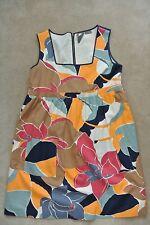 ANTHROPOLGIE - GIRLS FROM SAVOY - Flower Empire Prints Dress size 12 L $158 USED
