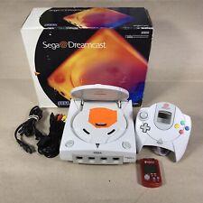 Sega Dreamcast GDEMU Mod Preloaded over 160 Games 128GB SD Card 1 Controller,BOX