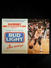 1988-89 University of Arizona Basketball Schedule - Sean Elliott (Spurs Star)