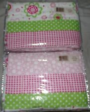 2 new Pink Quilted Dottie Pillow Shams