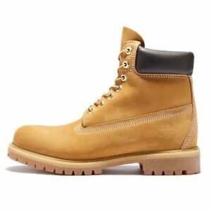 TIMBERLAND 6-Inch Premium Waterproof boots Men'S WHEAT NUBUCK 10061 NIB ALL SIZE