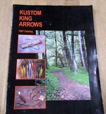 1977 Kustom King Arrows Catalog Recurve Bow Equipment >