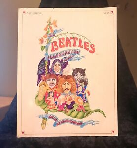 Dell The Beatles Illustrated Lyrics Book 1972 First Edition Alan Aldridge Book