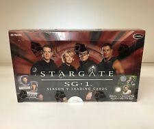 Stargate SG1 Season 9 - Sealed Trading Card Hobby Box - 40 Pks, Rittenhouse 2007