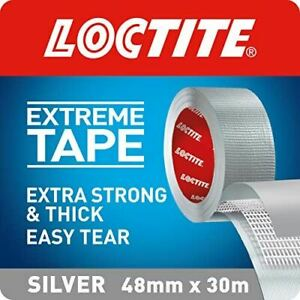 Loctite Extreme Tape, Extra-Strong Adhesive Tape, Extra-Thick 48 mm x 30 m
