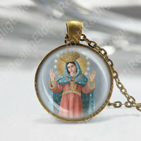 Madonna of Liberation Libera Catholic Necklace Mary Medal Religious Pendant NEW