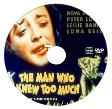 The Man Who Knew Too Much - Peter Lorre - Alfred Hitchcock - 1935 - DVD