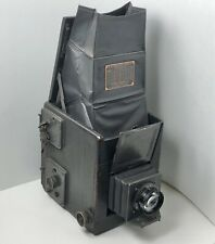 Rotating Back Graflex Series B / 4x5 camera / great shape with lens & film back