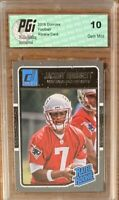 Jacoby Brissett RC PSA 10 2016 Panini Donruss no. 370 (Rated Rookie)