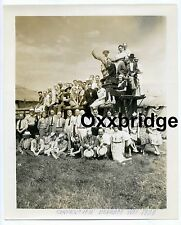 CIRCUS FANS ASSOCIATION 1933 CONVENTION PHOTO Baraboo Wis Madison