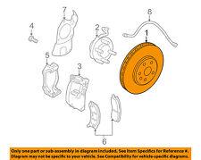 GM OEM Front Brake-Disc Rotor 19303811