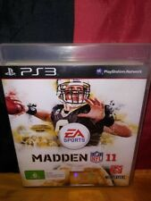 Madden NFL 11 - Sony PS3 PAL - Manual Included