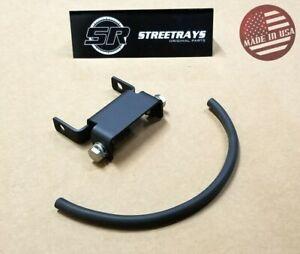 "[SR] 96-18 Harley Davidson Dyna 1.5"" Tank Riser Bracket Extension Kit (BLACK)"