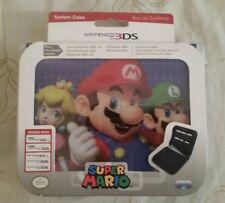 Nintendo 3DS System case Super Mario Peach Luigi NEW