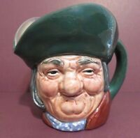 "Royal Doulton Character Jug ""TOBY PHILPOTS"" with A Mark. 1937 - 69, 3 1/4"" Tall"