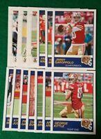 2019 Score San Francisco 49ers Team Set. Nick Bosa RC 15 Cards, 4 RC