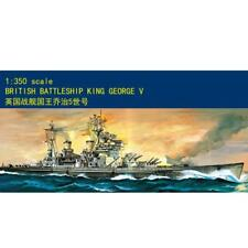 80605 1/350 Scale George V Battleship Warship Fighting Boat Model MiniHobby