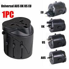 International USB Travel Adapter AC Power Plug Converter Universal AUS UK US  AY