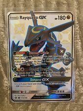 Pokémon Rayquaza GX - Full Art SHINY 177a/168 SECRET *MINT* ENG /NO PSA