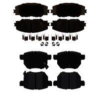 Front and Rear Ceramic Brake Pad Set Kit ACDelco For Pontiac Scion Toyota Matrix