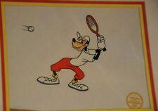 Disney Goofy Tennis Racquet Sericel Ltd Edition