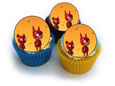 24 Muffin / Cupcake SamSam Gateau Disque Azyme Comestible