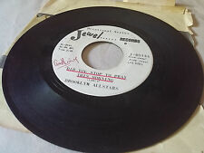Brooklyn Allstars 45 A Prayer for Today/Did You Stop to Black Gospel Soul Funk
