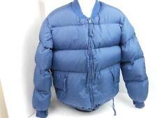 REI Jacket Coat Blue Women Goose Down Puffy Puffer Zip Up Winter Warm Ski Medium