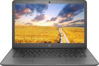 """HP 14"""" Chromebook FHD 1080p AMD A4-9120 2.5GHz 32GB SSD 4GB RAM Webcam Grey"""